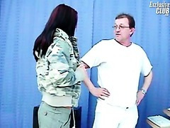 Sara gyno exam including pussy speculums exam and pussy enema