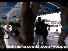 Hawt Sorority Girls Partying on Boats Part 1