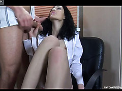 Clifford&Cora sexy nylon feet action