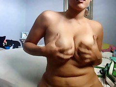 Homemade strip clip of my chubby GF