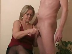 Gal next door handjob