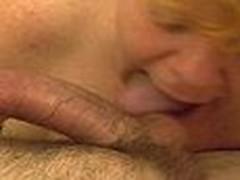 Mature Redheaded Cocksmoker