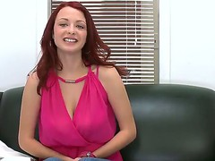 Red headed playgirl with an astonishing body Jessica Rabbit showing her astonishing titties