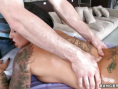 sexy christy mack can't live without wrapping her lips around a cock