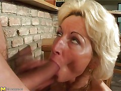 older doxy sucking thick cock an having hard sex