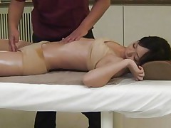 sexy playgirl acquires a unusual massage