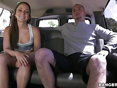 sexy remy lacroix get's a ride in the team fuck bus