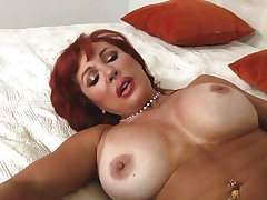 voluptuous redhead milf fucking wild
