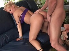 Britney loves large male fist deep in her pussy