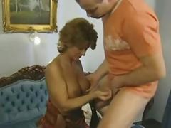 Redhead Older German Mom